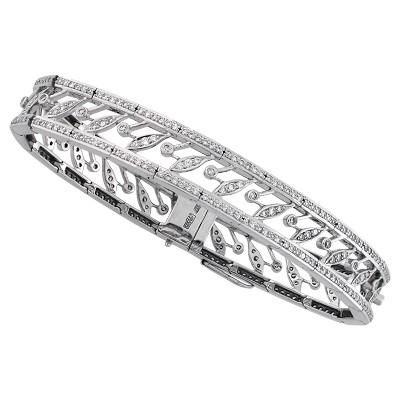 Браслет с бриллиантами, Золото 585