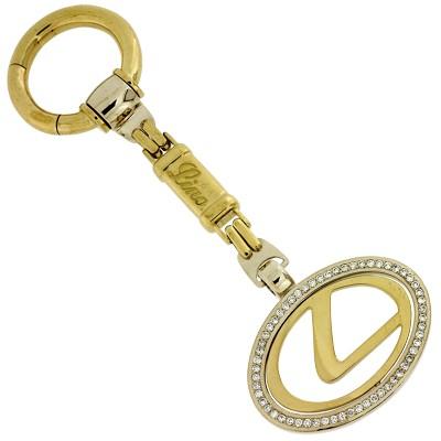Брелок с бриллиантами ЛЕКСУС, Золото 750