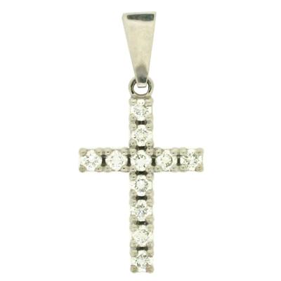 Подвеска с бриллиантами, Золото 585