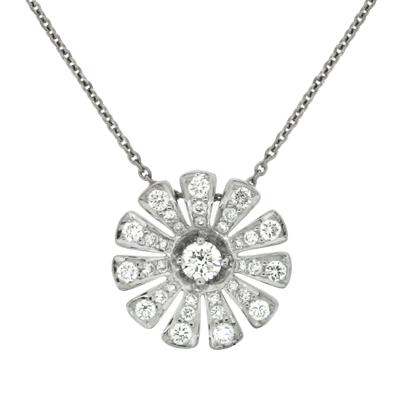 Колье с бриллиантами, Золото 585