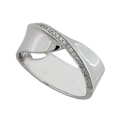 Кольцо с бриллиантами , Золото 585
