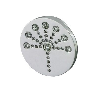Значок с бриллиантами, Золото 585