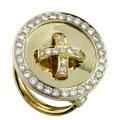 Кольцо с бриллиантами, Золото 750
