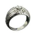 Кольцо с бриллиантом, Золото 585