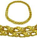Колье с бриллиантами, Золото 750