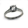 Кольцо с бриллиантами, Золото 585