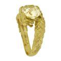 Кольцо с сапфиром, Золото 750