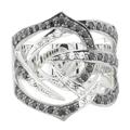 Кольцо с фианитами, Серебро 925
