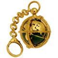 Брелок для ключей с эмалью и бриллиантом, Золото 750